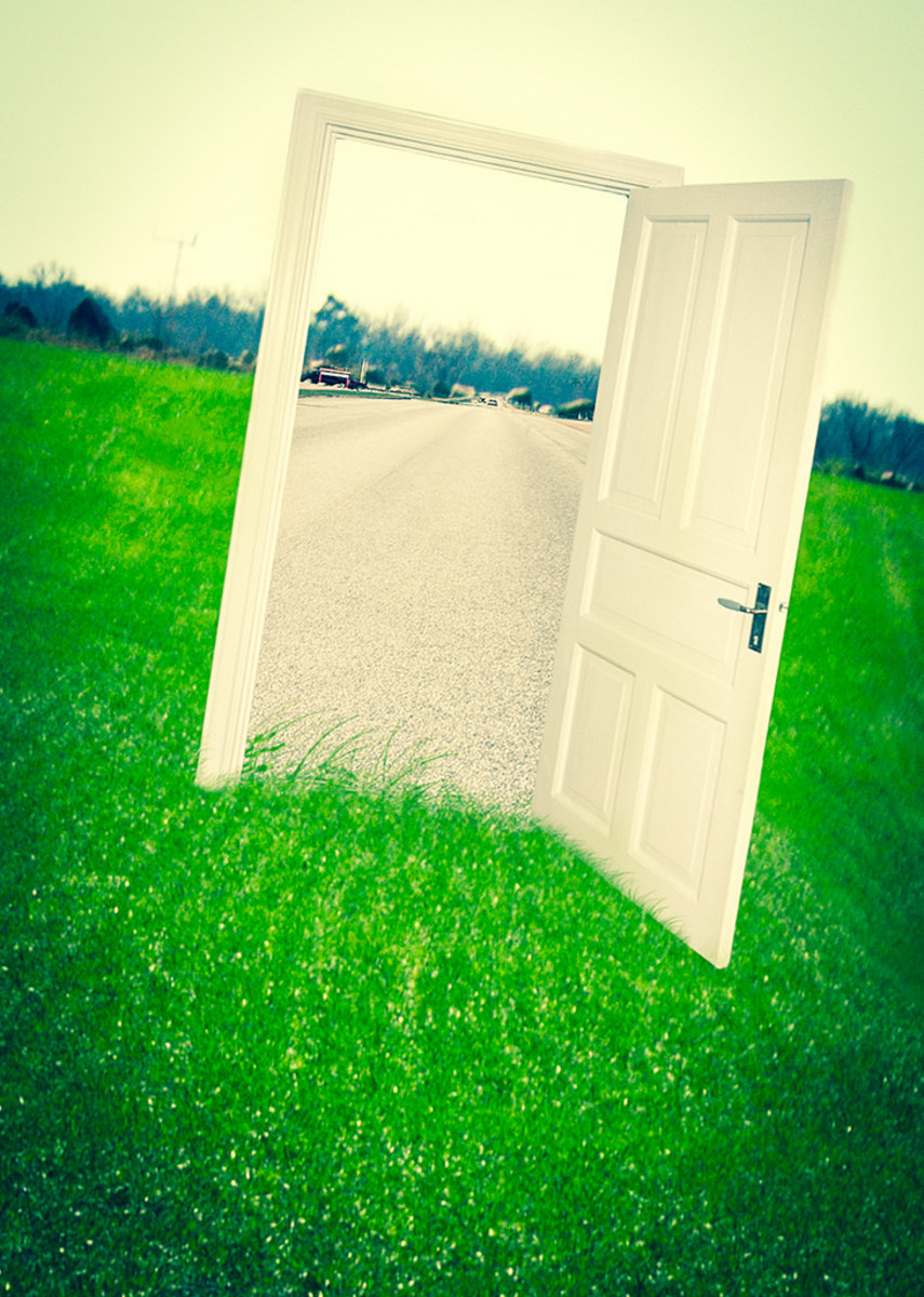 Open door to opportunity
