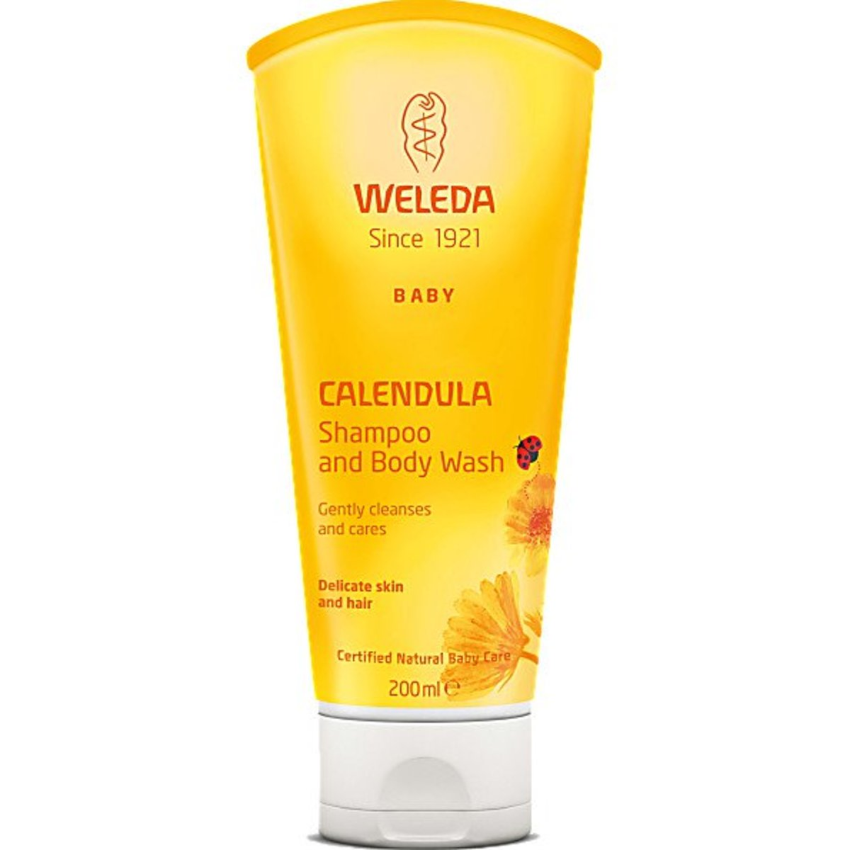 Calendula contains the naturally occurring oil from the herbaceous plants, marigold.
