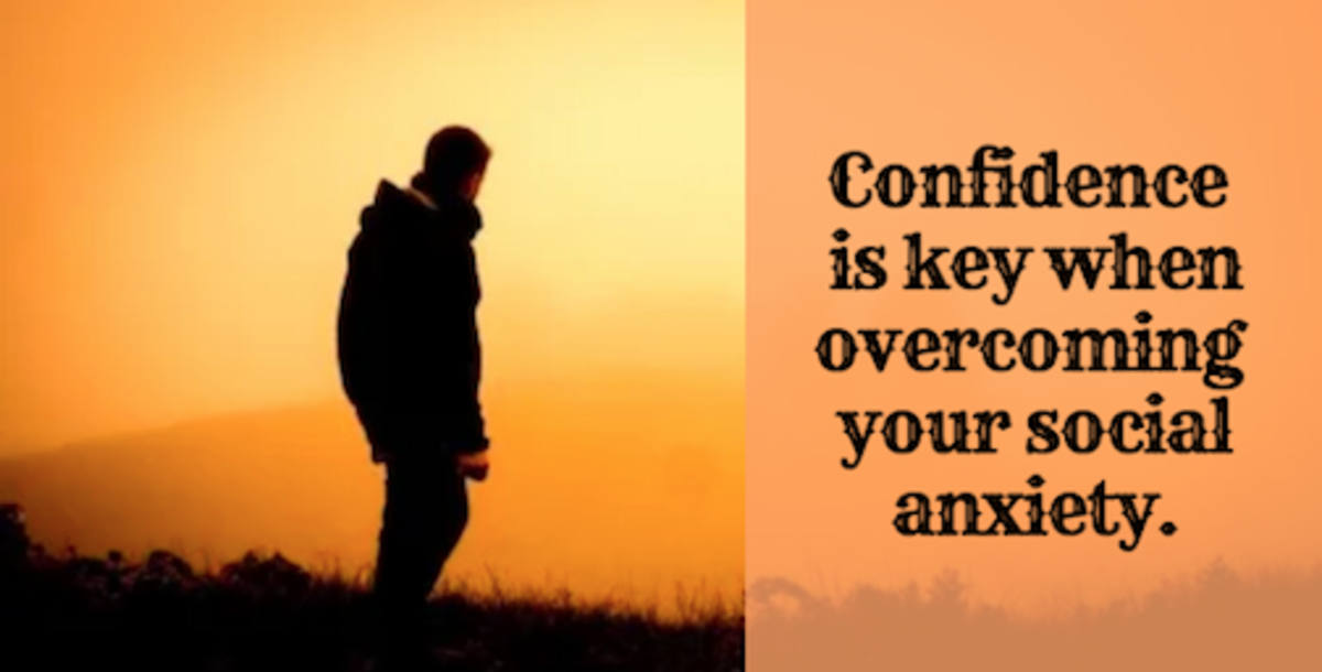 The confidence you find within yourself will be reflected in how others see you.