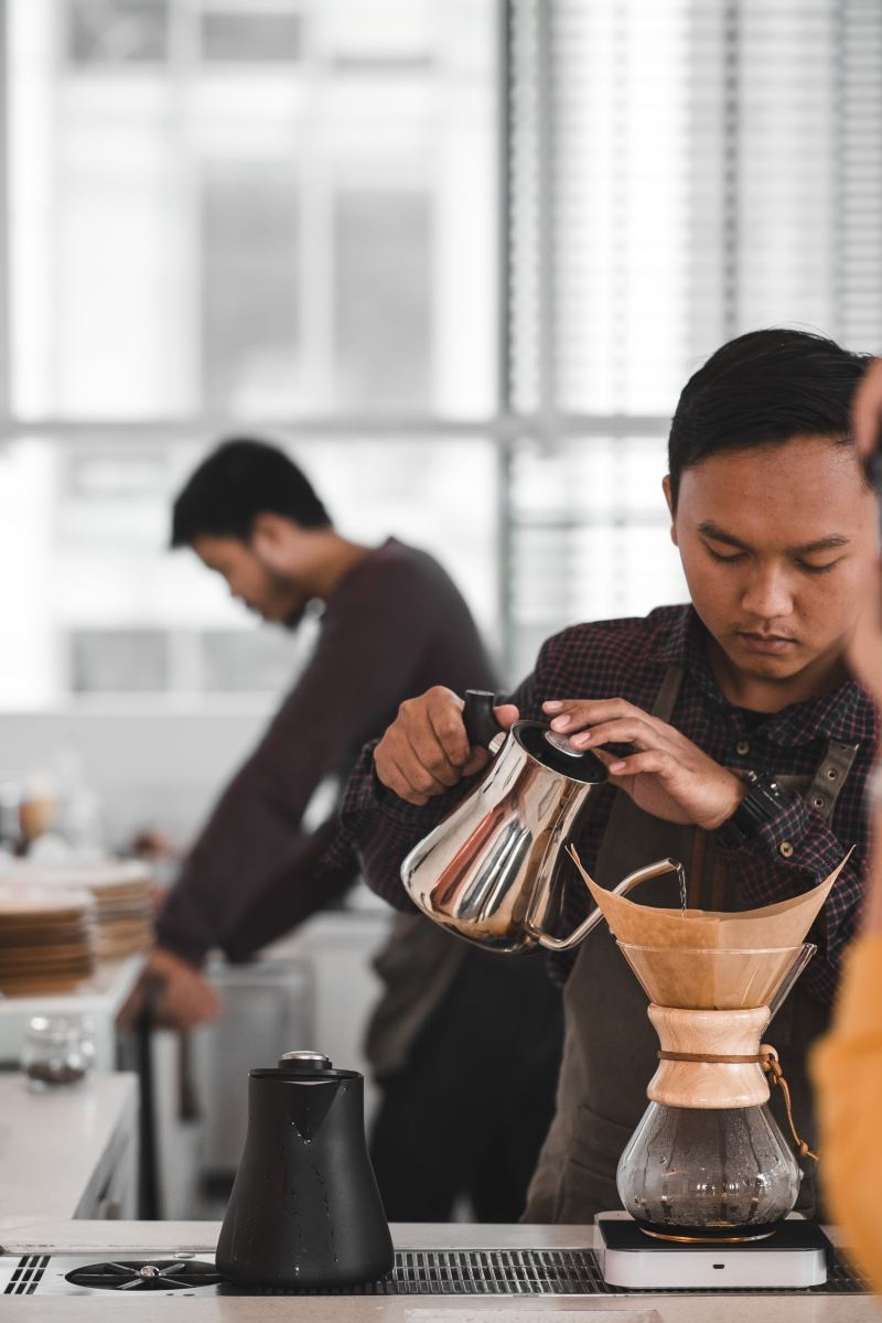 Look, even if you're a barista, you should try not to over caffeinate. Caffeine is a known trigger for anxiety and if you're already struggling with it, minimizing your consumption can help reduce your symptoms.