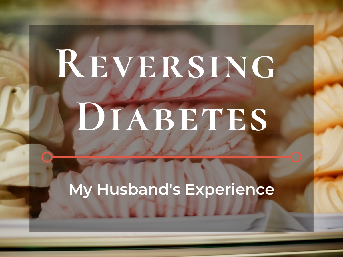 How my husband managed his diabetes.