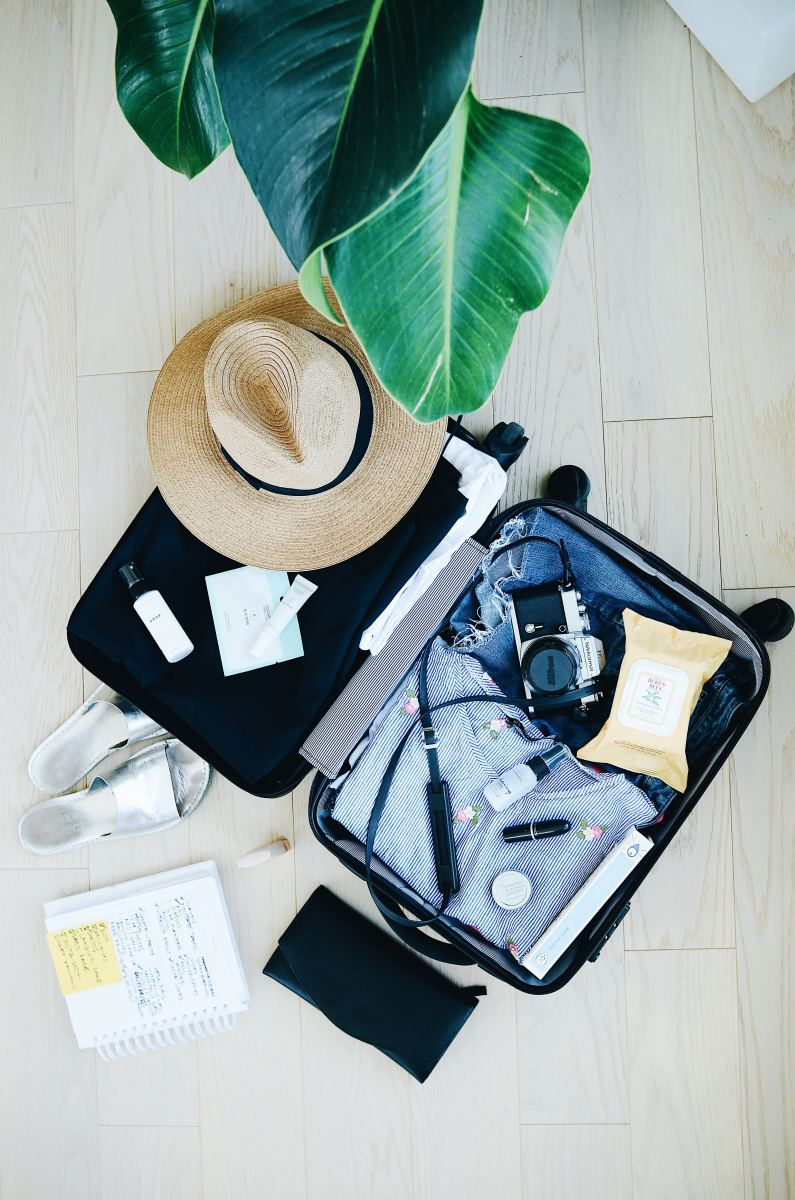 Packing your bags and going away for the weekend is a good way to switch up your routine.