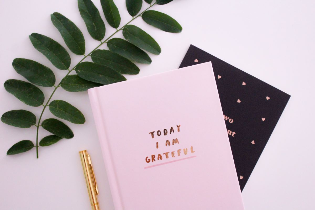Try writing down three things you are grateful for everyday.