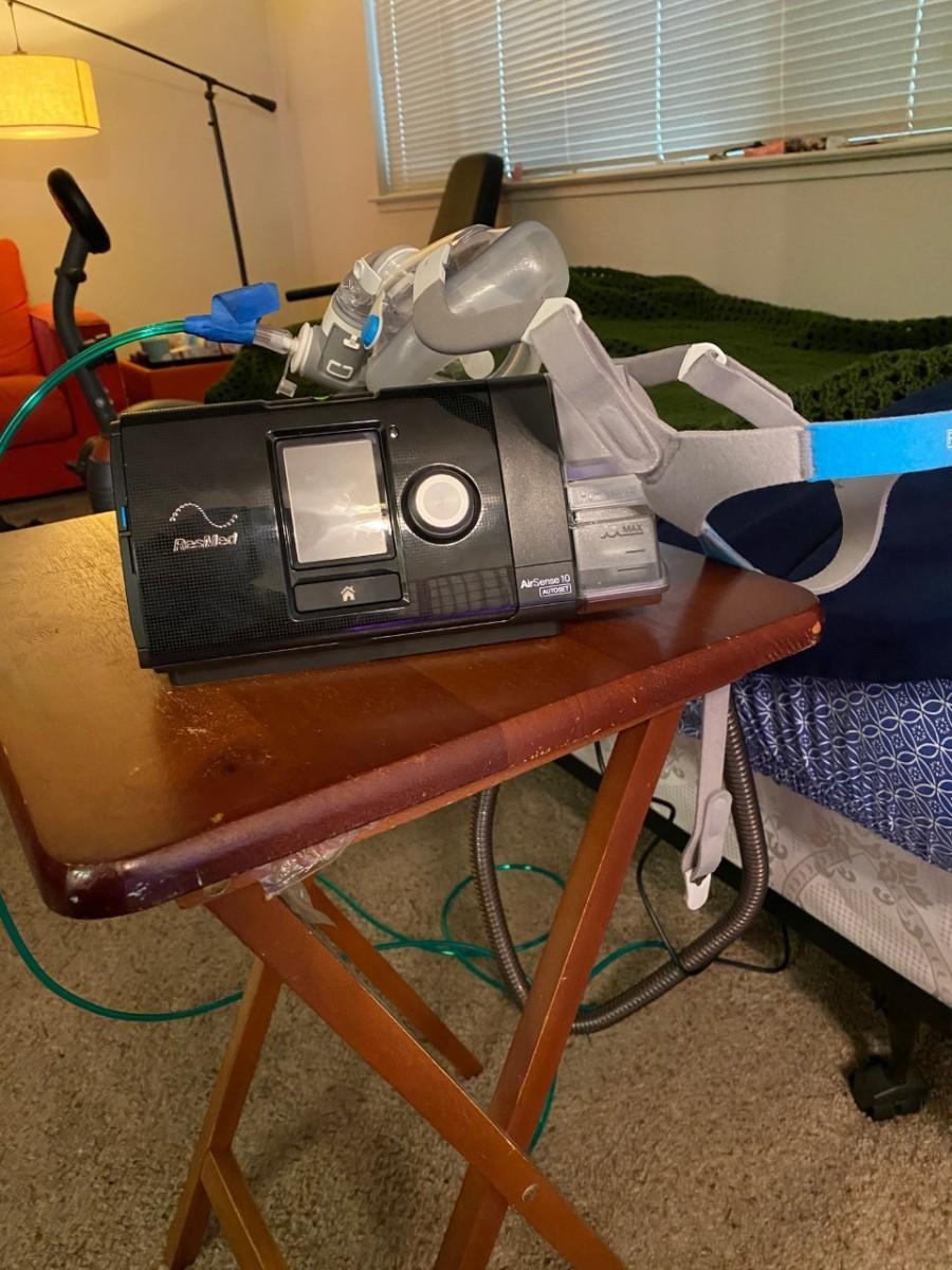 My CPAP machine.