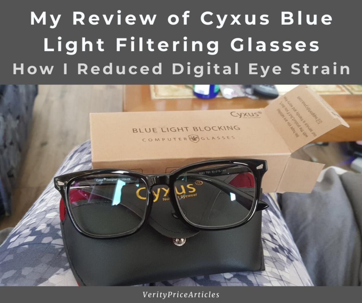 My Review of Cyxus Blue Light Filtering Glasses (How I Reduce Digital Eye Strain)