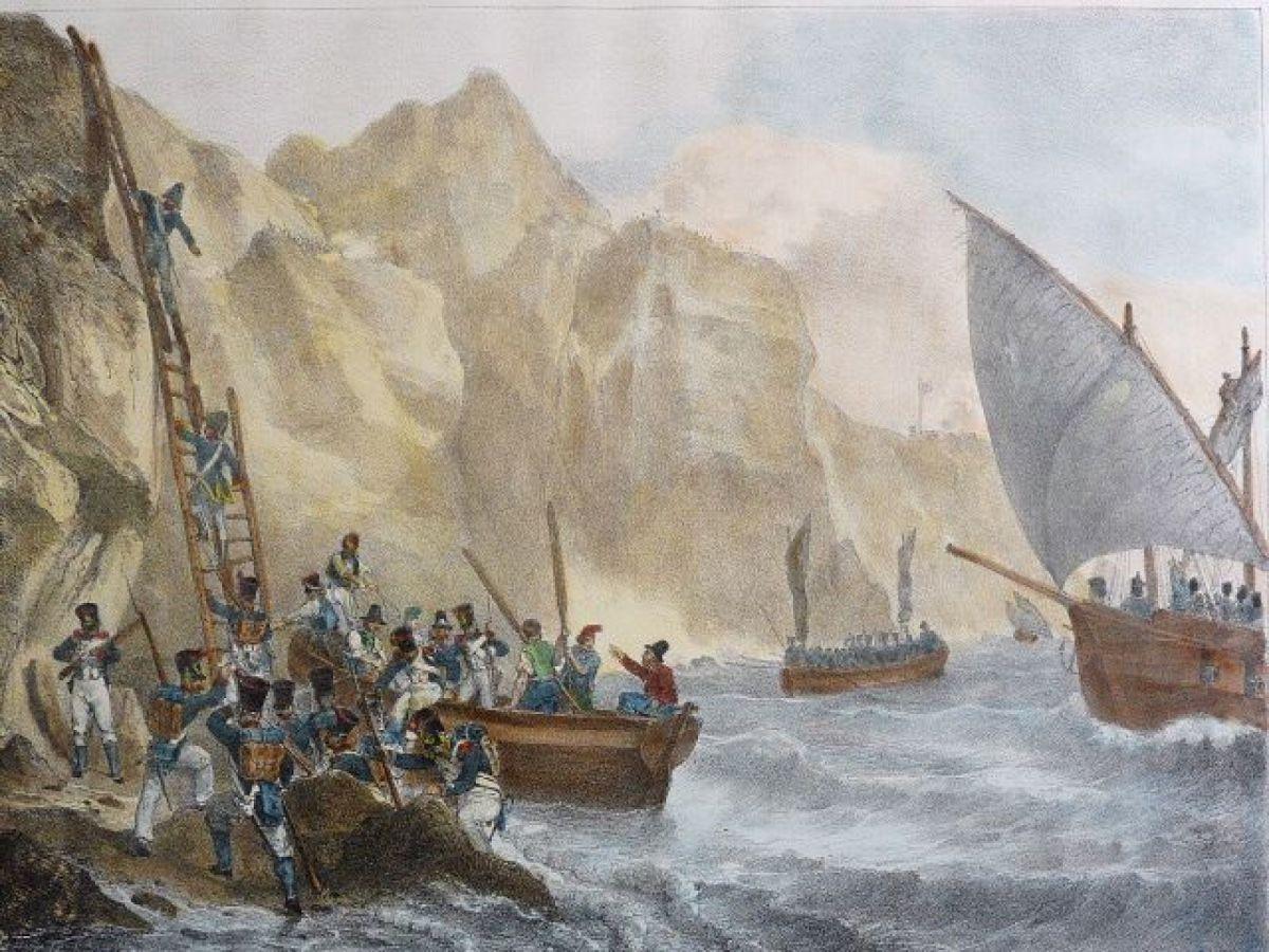 The Capture of Capri in 1808