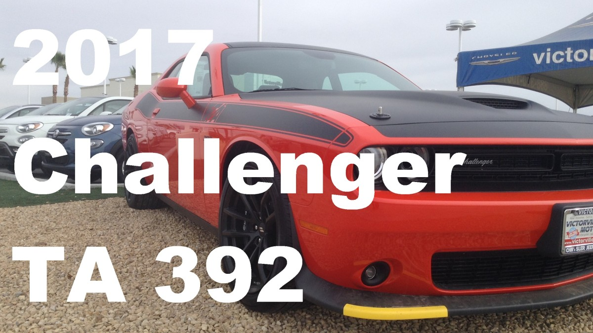2017 Dodge Challenger TA 392