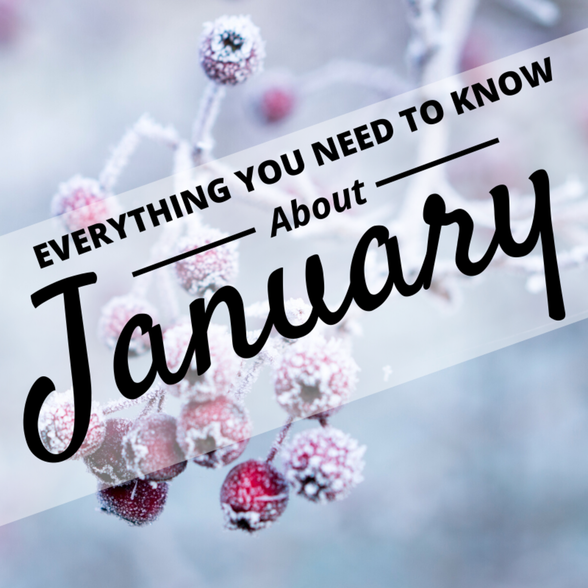 There's a lot more to the month of January than its premier position on the calendar.