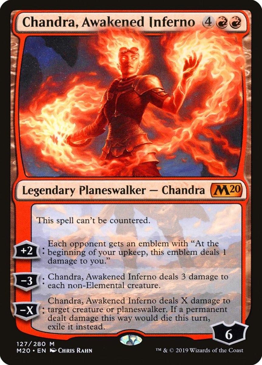 Chandra, Awakened Inferno mtg
