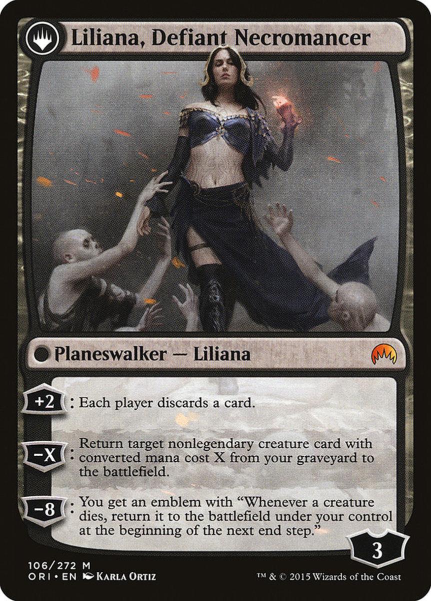 Liliana, Defiant Necromancer mtg