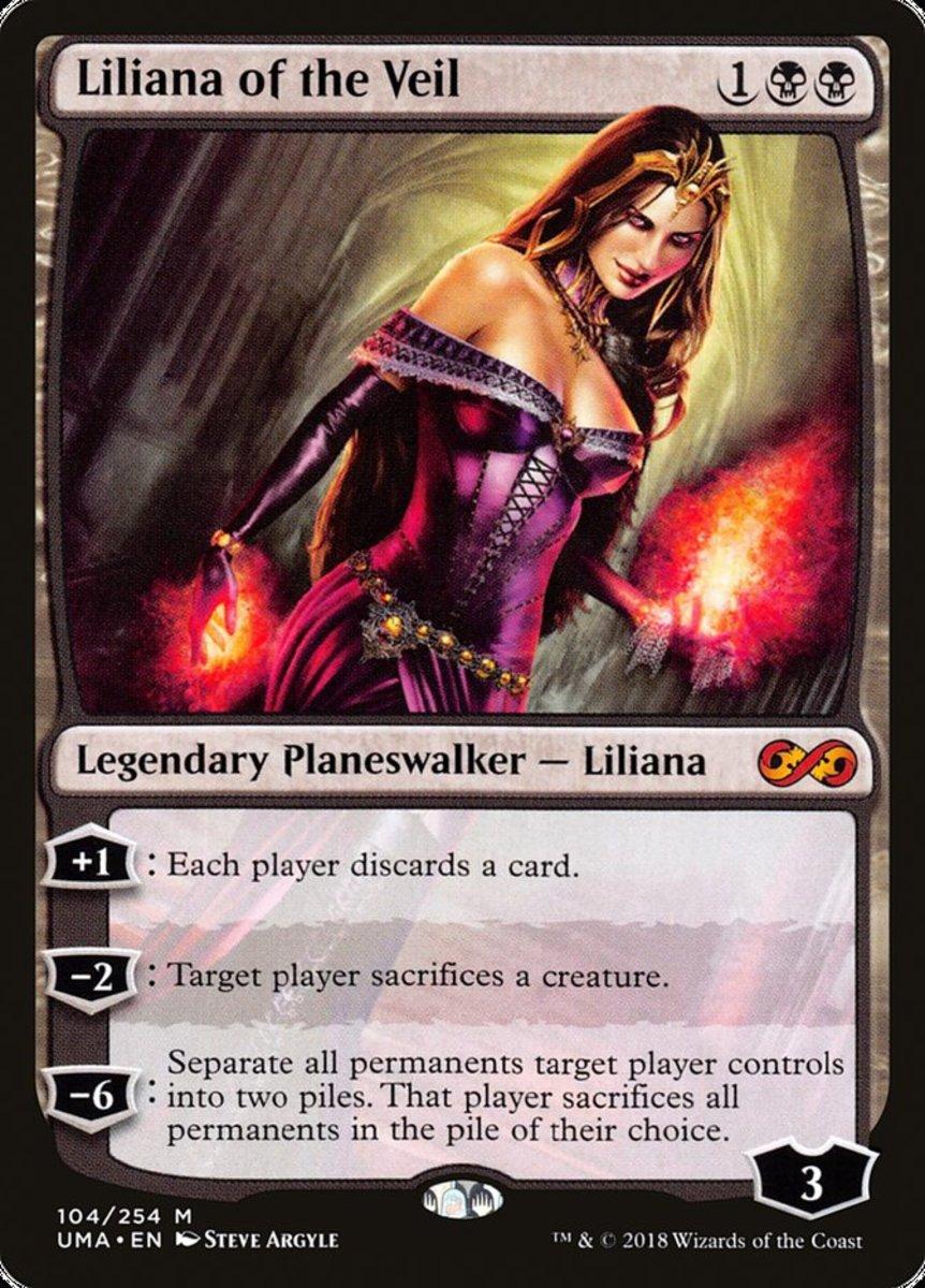Liliana of the Veil mtg