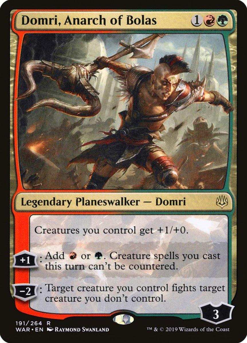 Domri, Anarch of Bolas mtg