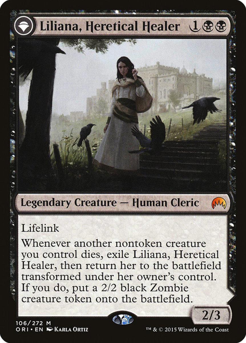 Liliana, Heretical Healer mtg