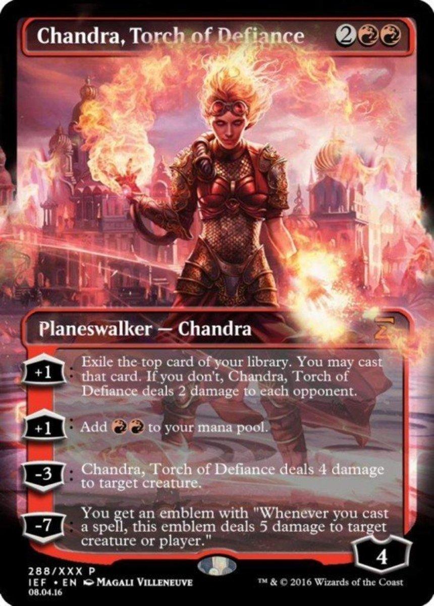 Chandra, Torch of Defiance mtg