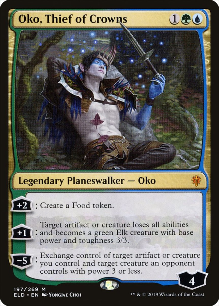 Oko, Thief of Crowns mtg