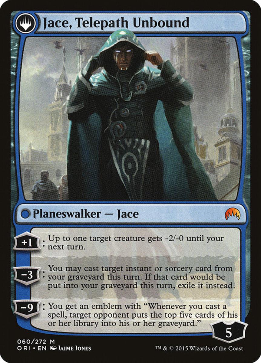 Jace, Telepath Unbound mtg