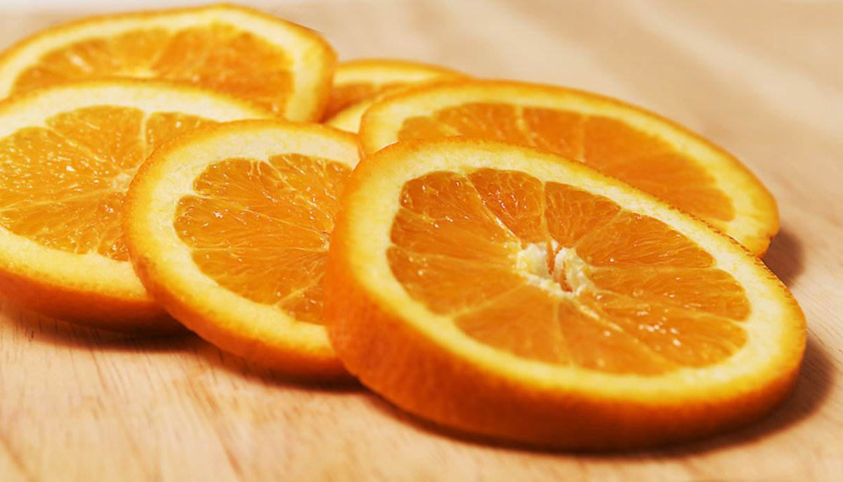 Oranges might be tasty, but they're not going to help you get over your cold any faster,