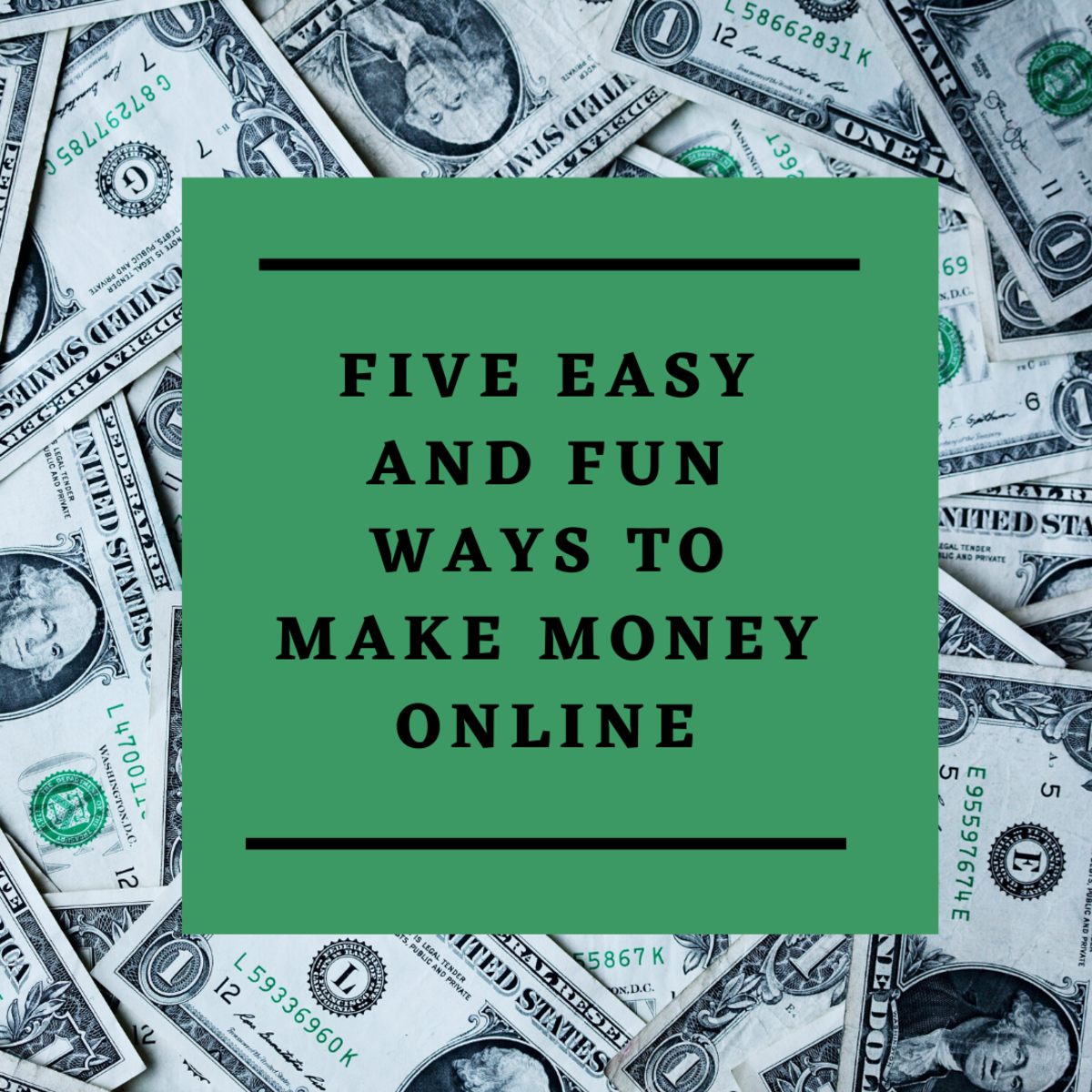 Five Easy and Fun Ways to Make Money Online