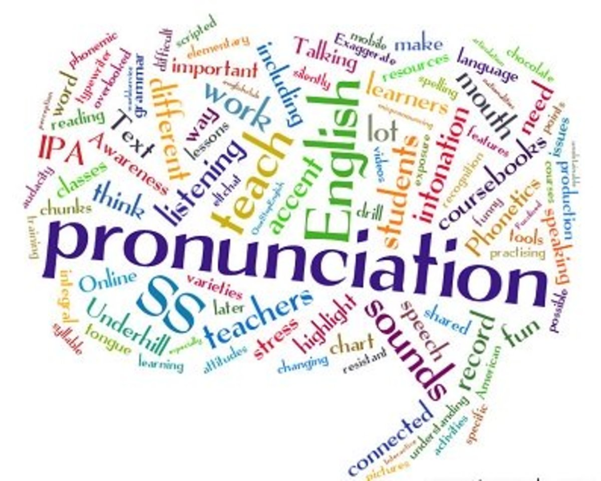 The Art of English (Mis)pronunciation