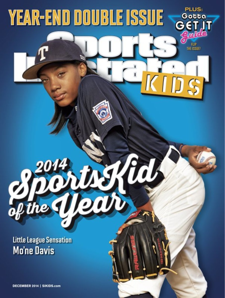 Mo'ne Davis on cover of Sports Illustrated