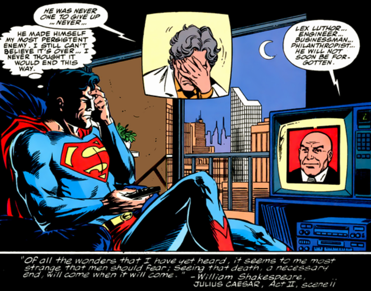 Even Luthor was mourned