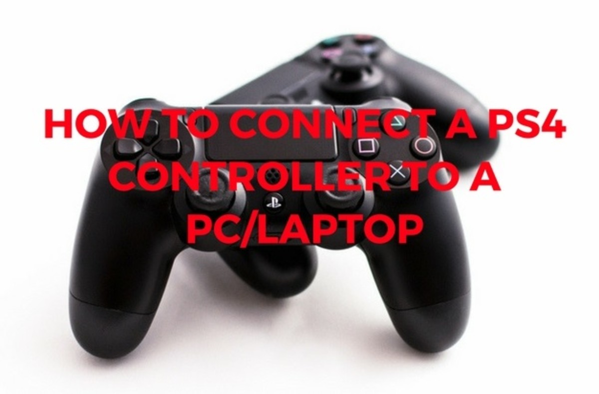 How to Connect a PS4 Controller to a PC/Laptop