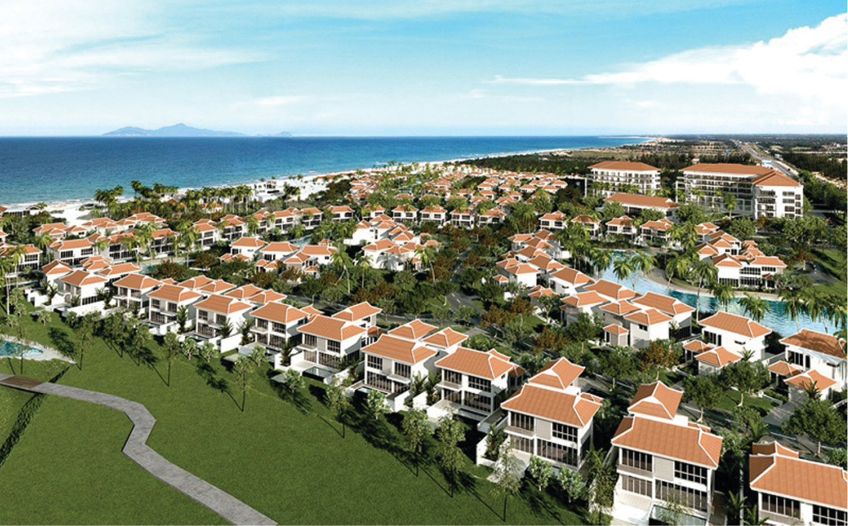 The Ocean Villas, one of the luxurious real estate projects in Danang