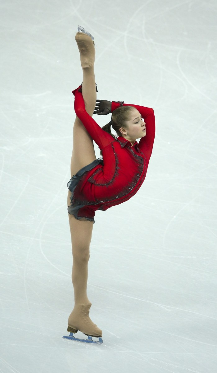 Figure Skating Requires Incredible Flexibility