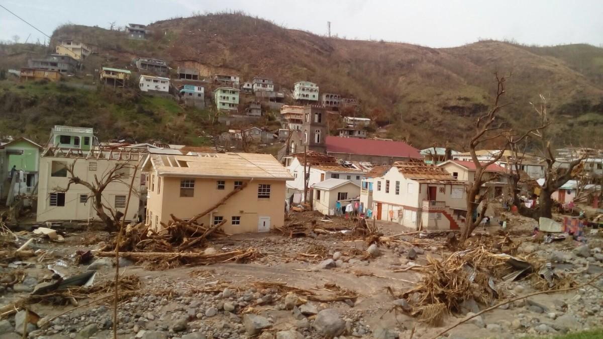 Experiencing Hurricane Maria