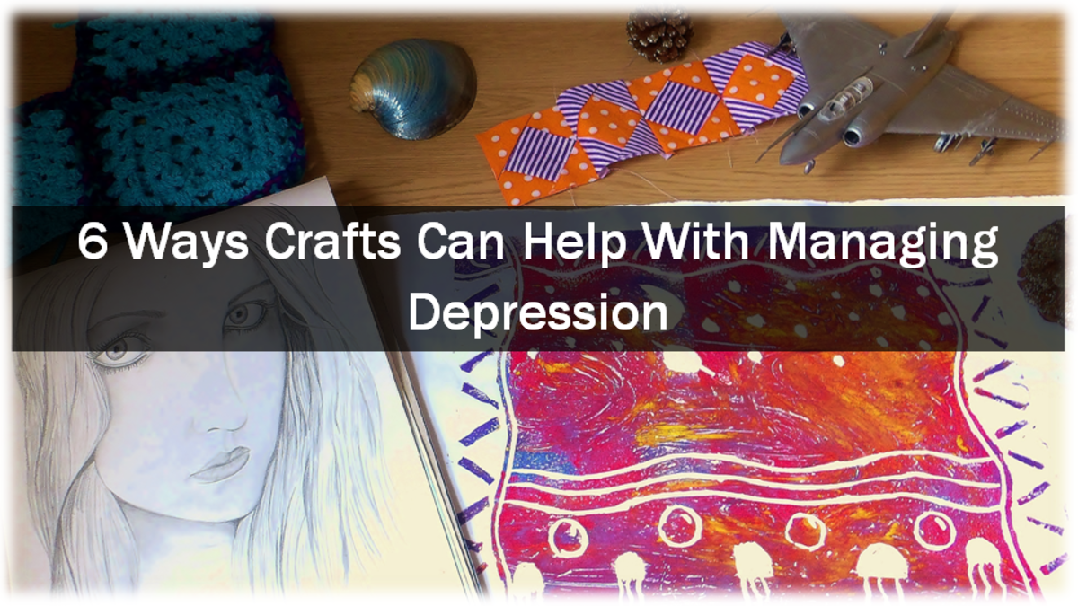 6 Ways Crafts Can Help With Managing Depression