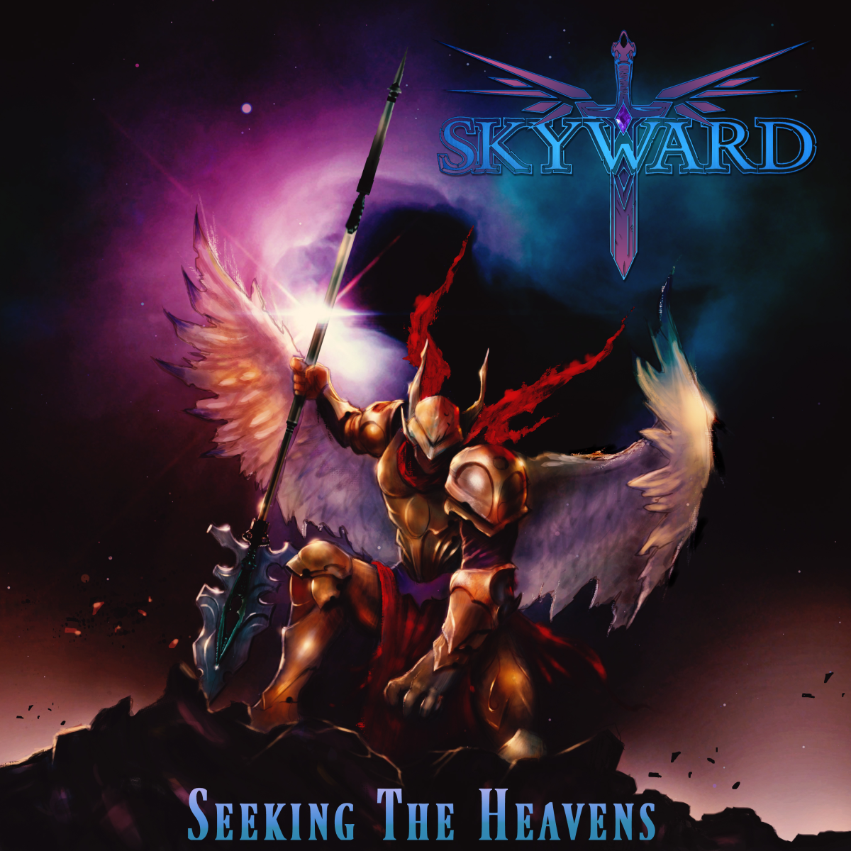 """Seeking the Heavens"" CD cover"