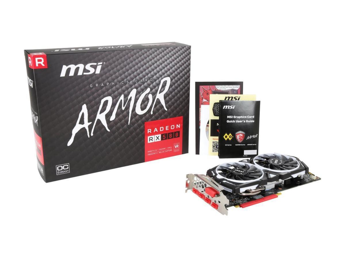 MSI RX 580 Armor OC 8GB Graphics Card Review and Gaming Benchmarks