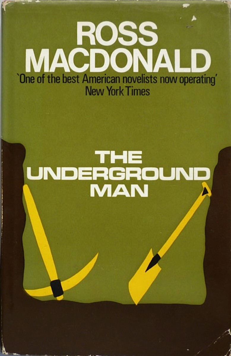 Review of The Underground Man by Ross Macdonald