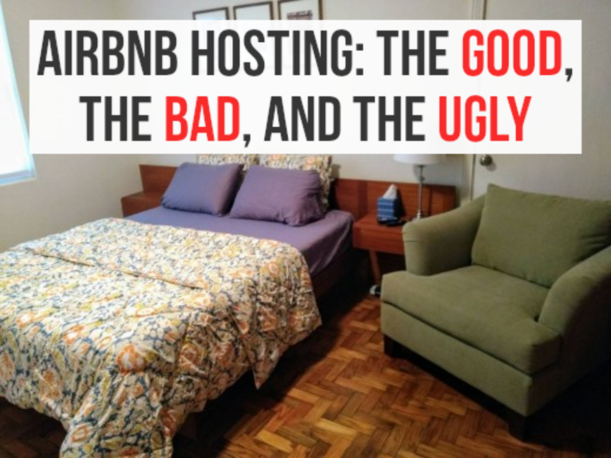Being an Airbnb host has its ups and downs, read on for my pros and cons list...
