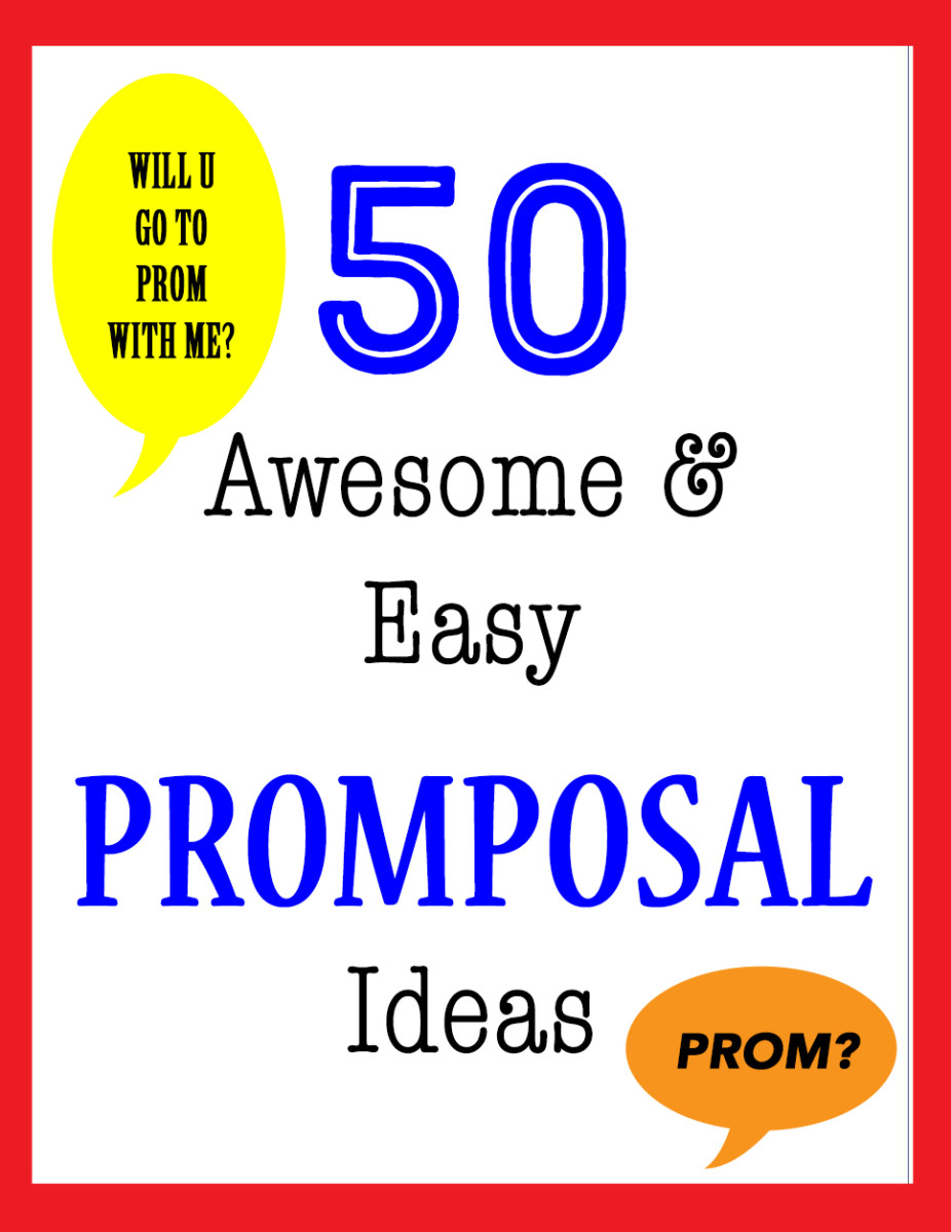 Not sure how to ask that special someone to the prom?  Here are 50 promposal ideas that anyone ought to say yes too!