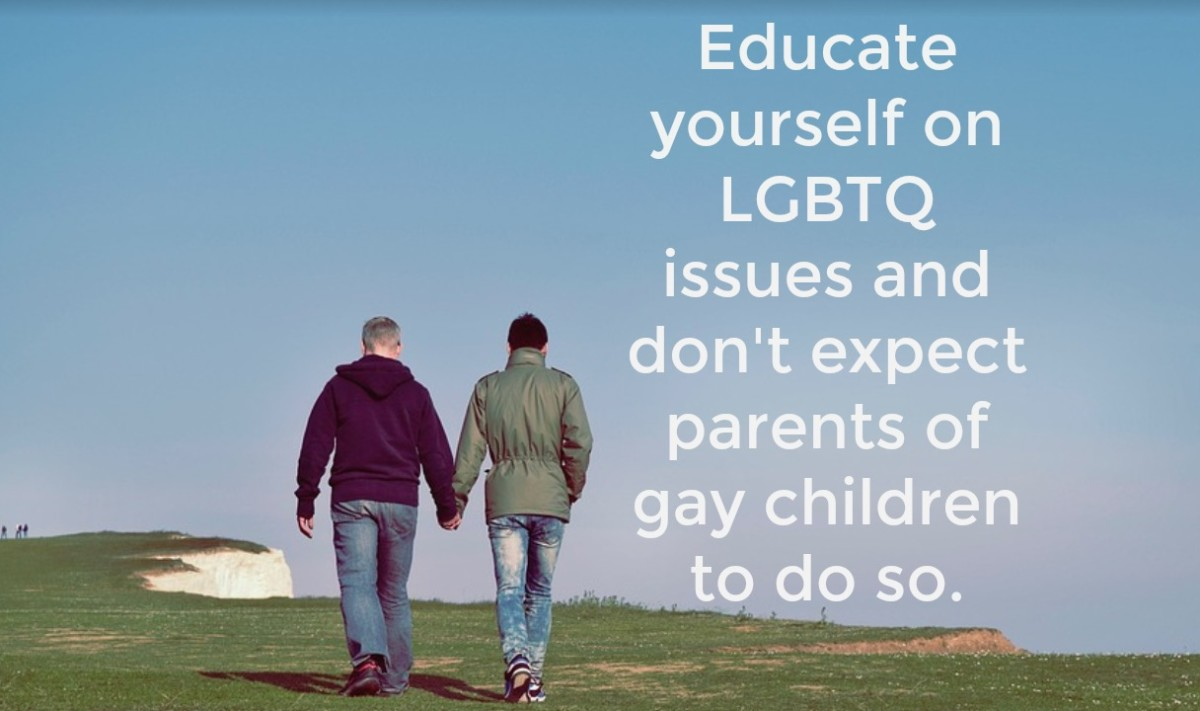 Things Parents of Gay Children Wish You'd Stop Saying