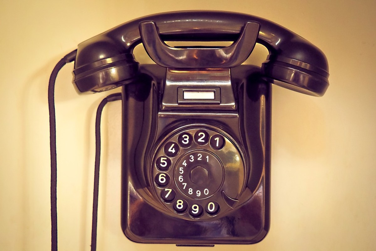 Who Don't Love Their Telephone?