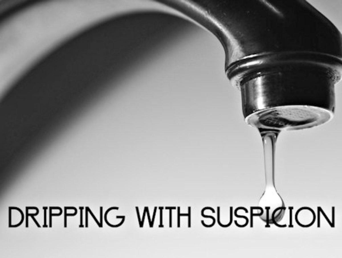 Dripping With Suspicion 11