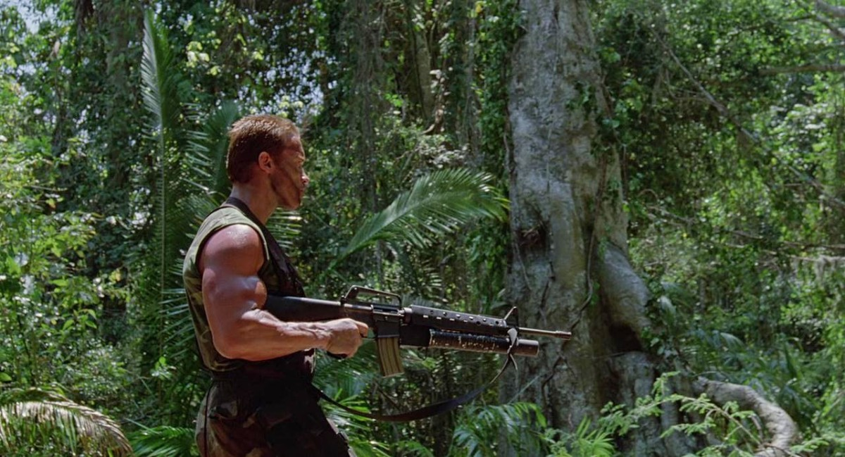 Big Guns: The Hard-Body Spectacle in the 1987 Action Classic, Predator.
