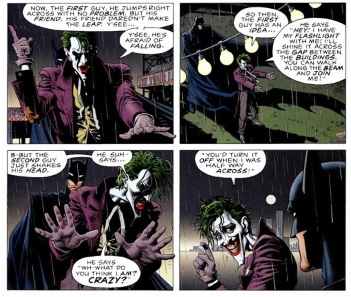 "Joker's ""joke"""