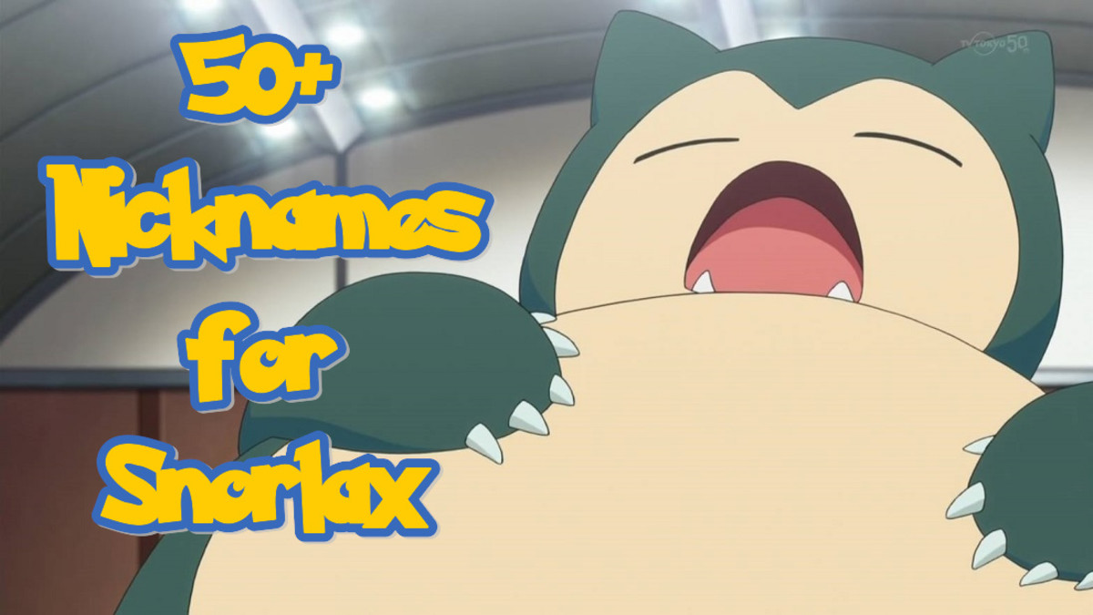 Nicknames for Snorlax