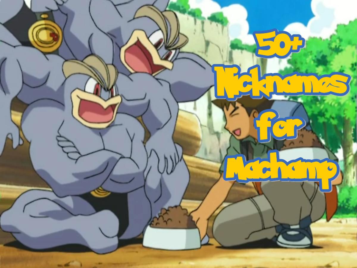 Nicknames for Machamp