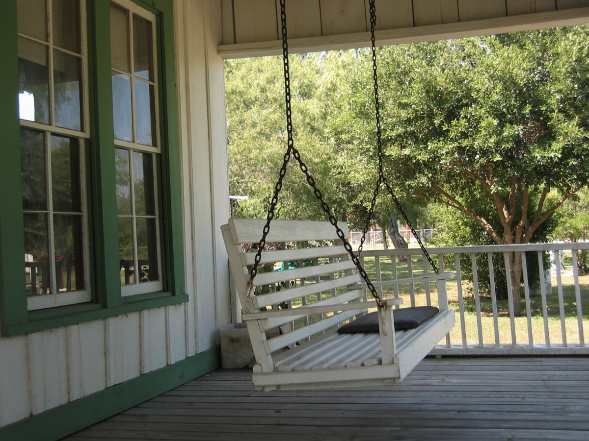 Don't Tell Scary Stories to Young Children- Singing and Scary Stories on the Porch Swing