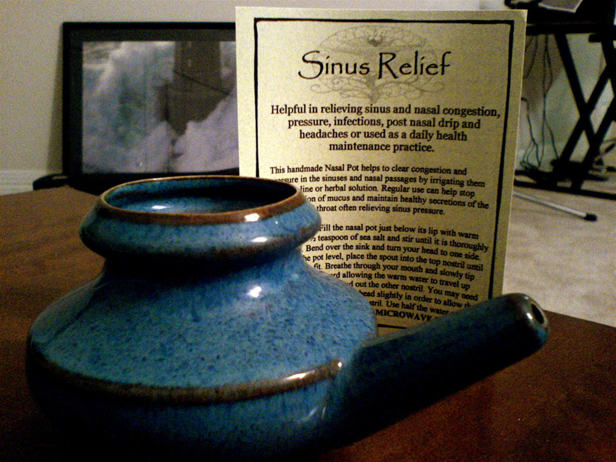 Neti Pot for sinus and allergy relief