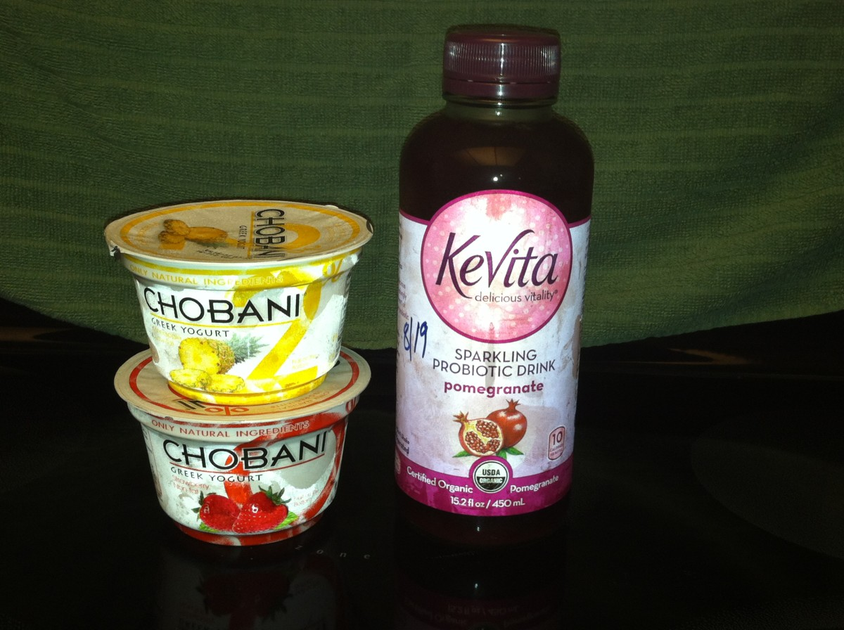 Yogurt and probiotic drink