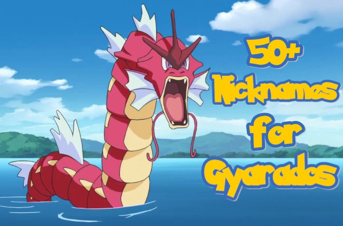 50+ Nickname Ideas for Gyarados