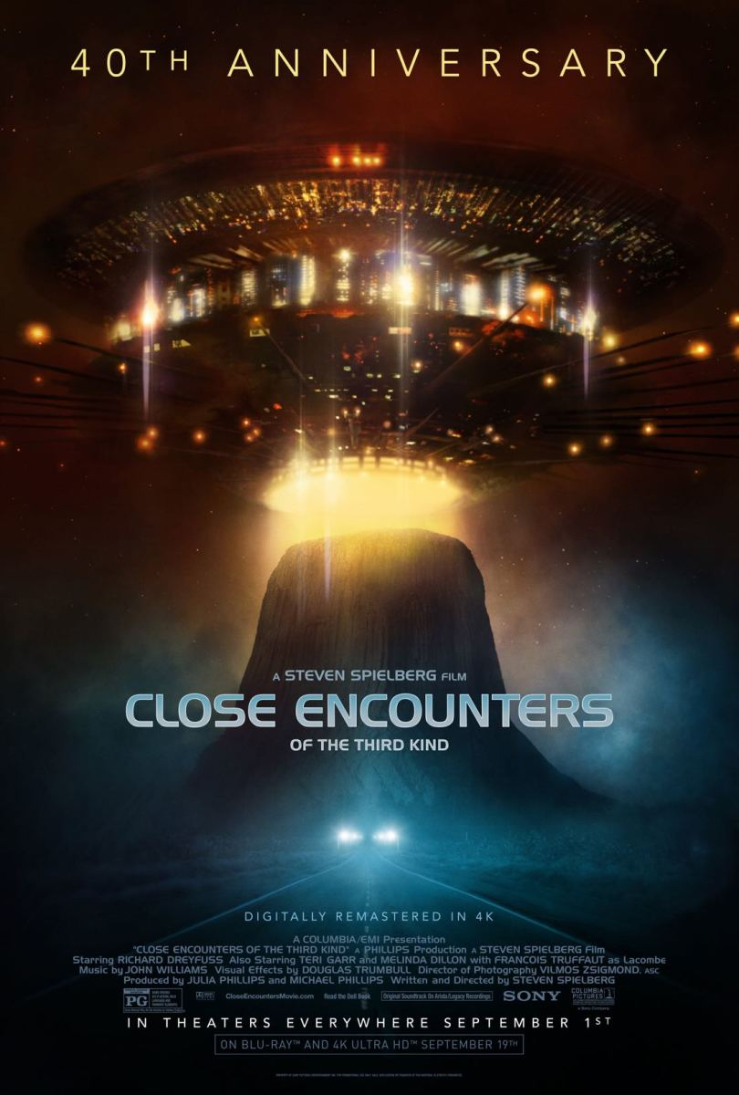 Close Encounters of the Third Kind: 40th Anniversary Re-Issue