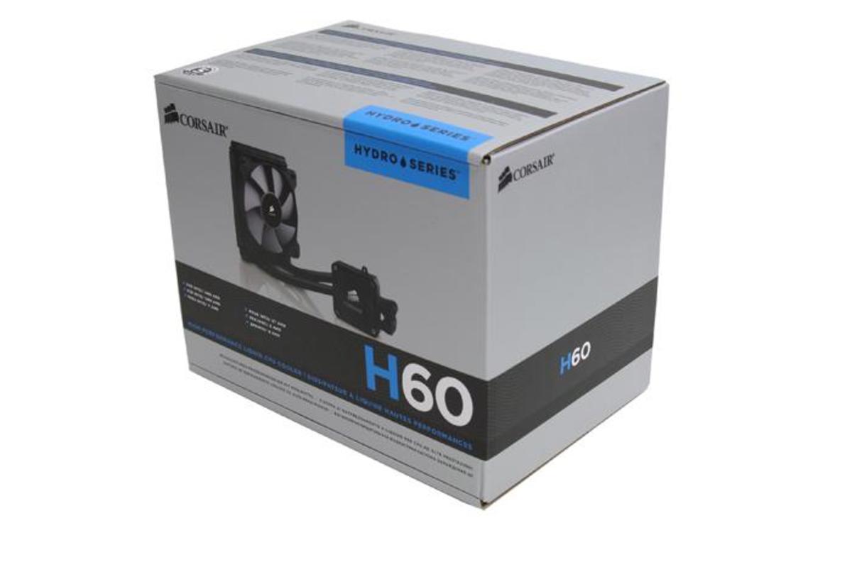 Corsair H60 Liquid Cooler Review | TurboFuture