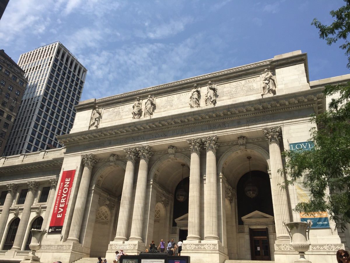 Libraries are an essential component of any college campus.  Often large libraries are located in the city, such as the New York Public Library in New York City.