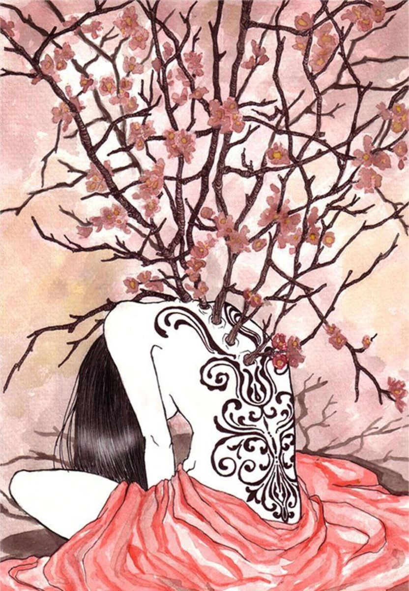 Blossoms of Grief by the artist Katrina Pallon.